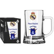 Caneca Maxim Real Madrid Torcedor - 500 ml