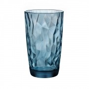 Copo Diamond Long Drink Azul