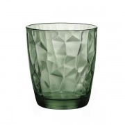 Copo Diamond para Whisky Verde
