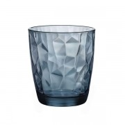 Copo Diamond Para Whisky Azul
