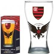 Copo Shape Flamengo Urubu  - 470 ml