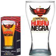 Copo Shape Flamengo Nação Rubro Negra - 470 ml