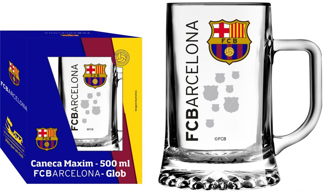 Caneca Maxim Barcelona Decoração - 500ml