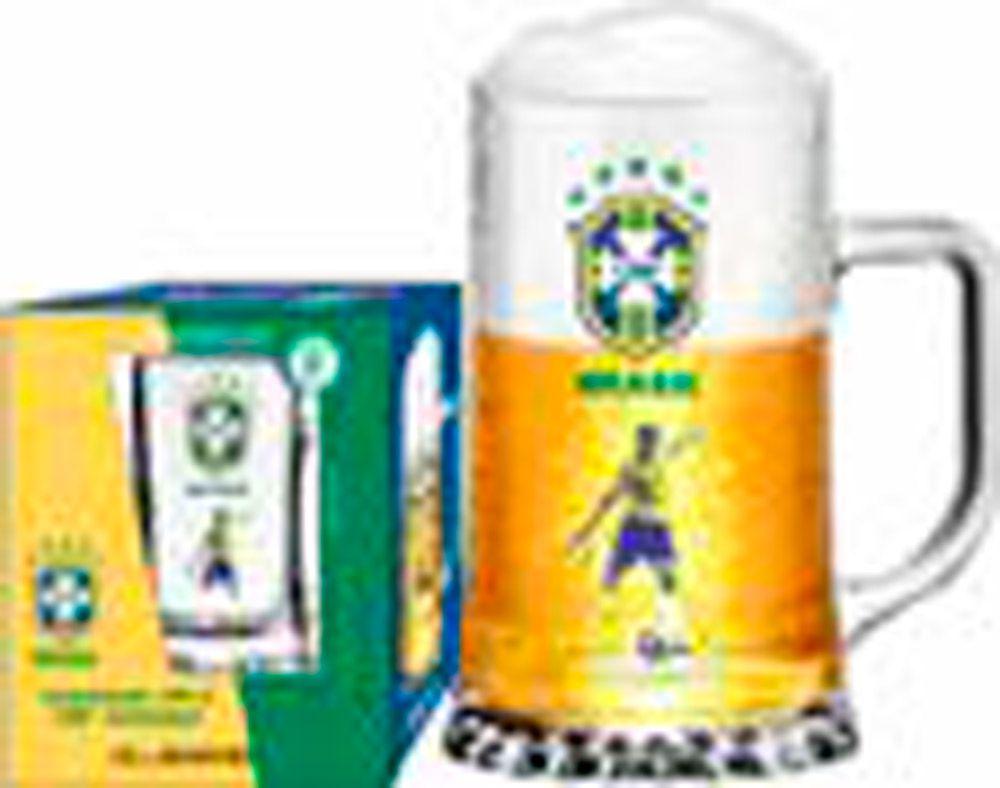 Caneca Maxim CBF Jogador - 500 ml