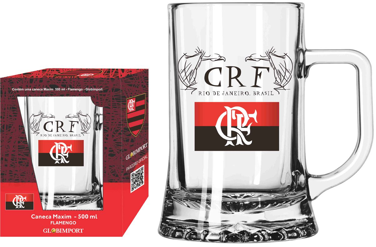 Caneca Maxim Flamengo CRF - 500 ml