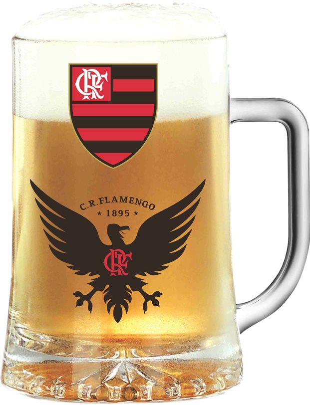 Caneca Maxim Flamengo Urubu - 500 ml