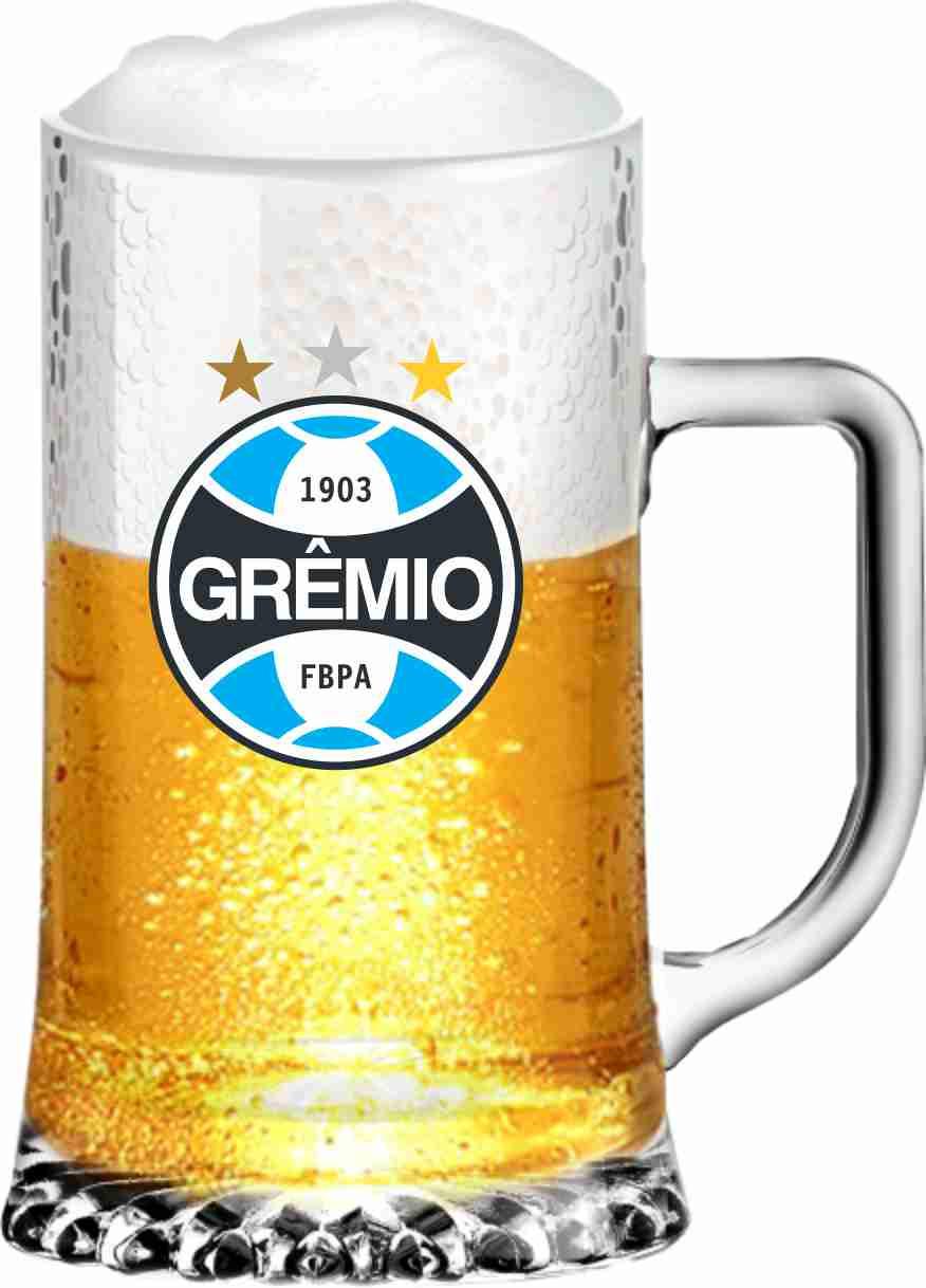 Caneca Maxim Grêmio Brasão - 500 ml
