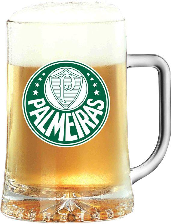 Caneca Maxim Palmeiras Logo - 500 ml