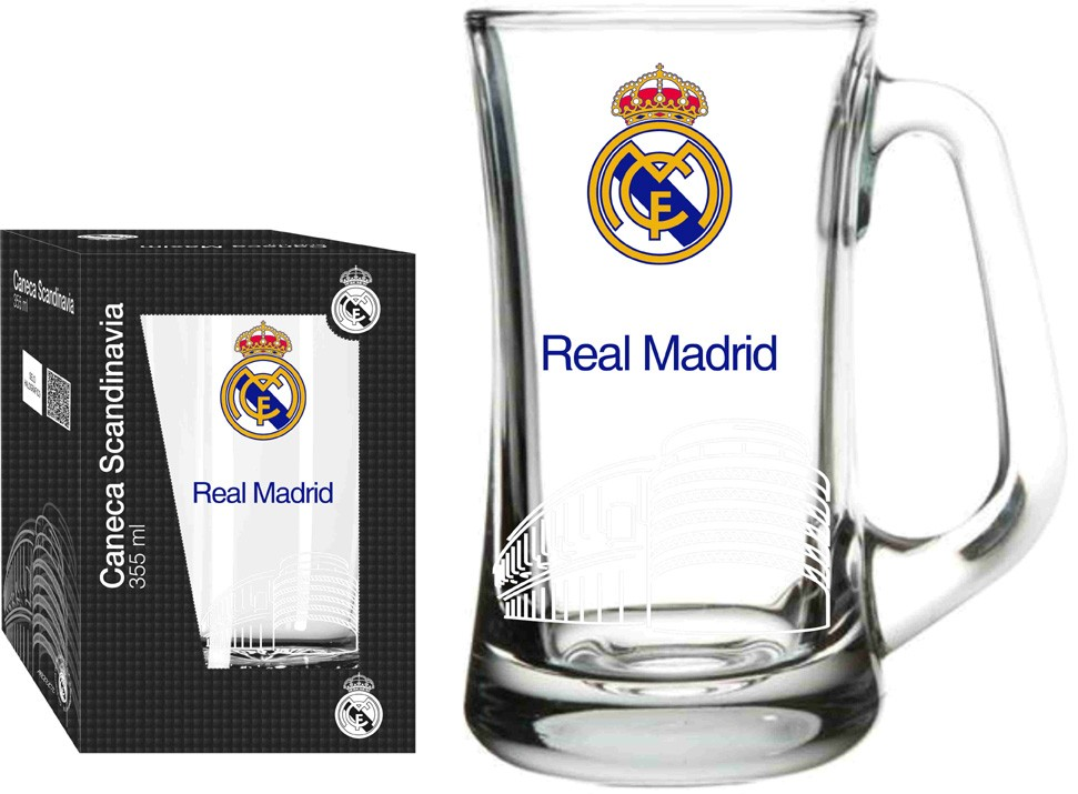 Caneca Scandinavia Real Madrid Estadio - 355 ml