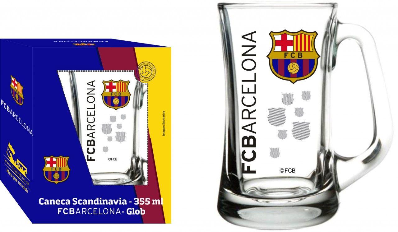 Caneca Scandinavia Barcelona Decoração - 355ml
