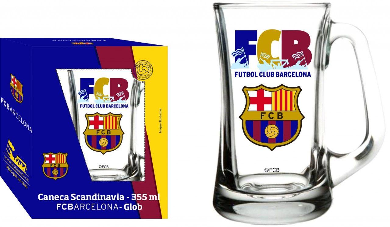 Caneca Scandinavia Barcelona FCB - 355ml