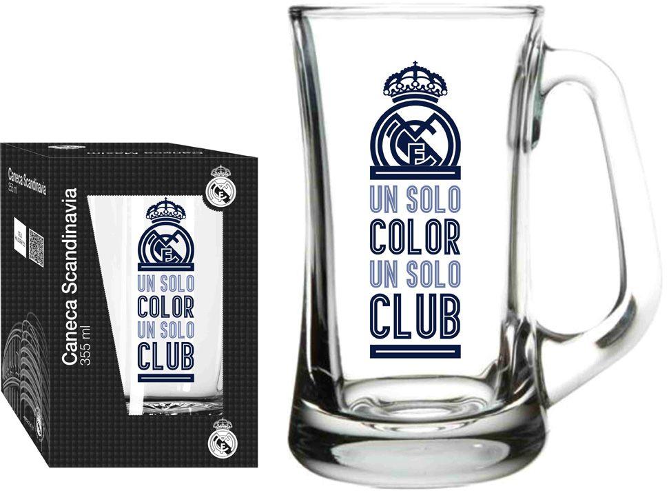 Caneca Scandinavia Real Madrid Clube - 355 ml