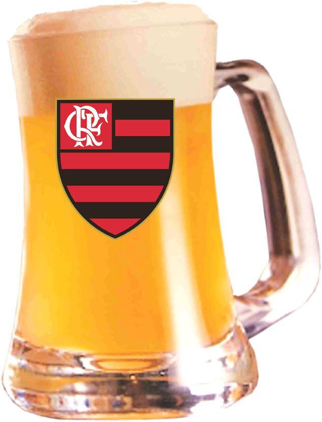 Caneca Scandinavia Flamengo Logo - 355 ml