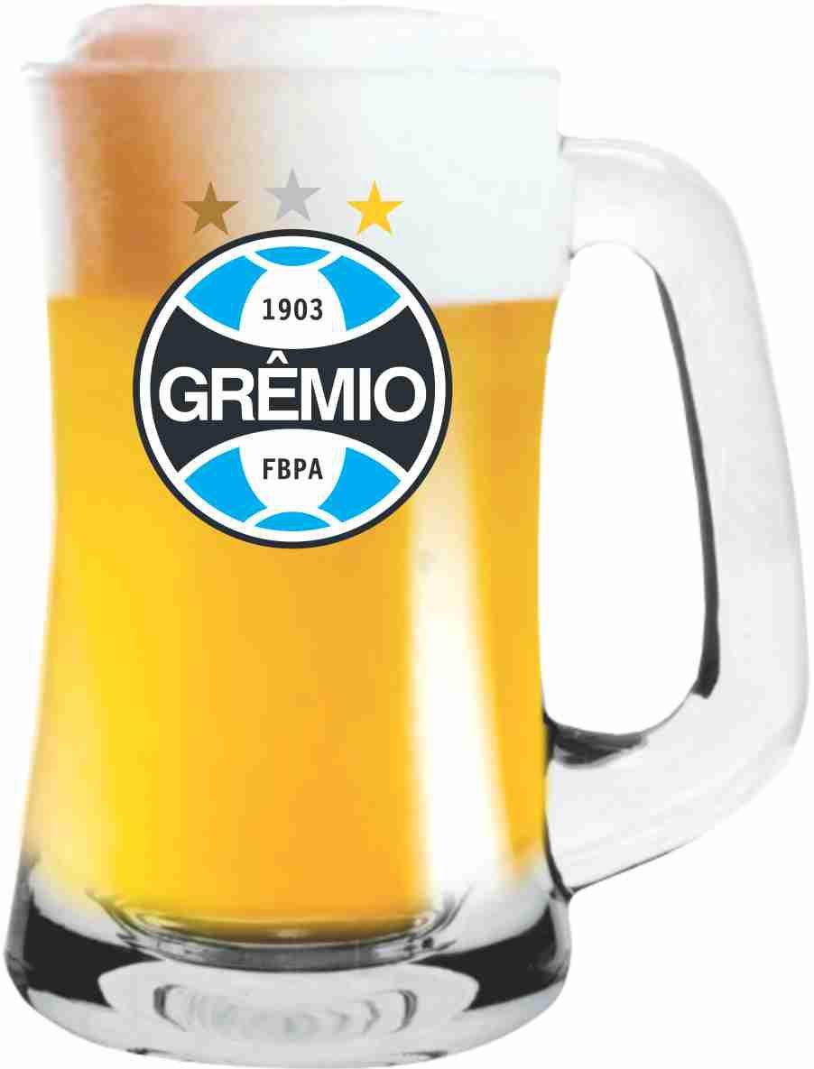 Caneca Scandinavia Grêmio Brasão - 355ml
