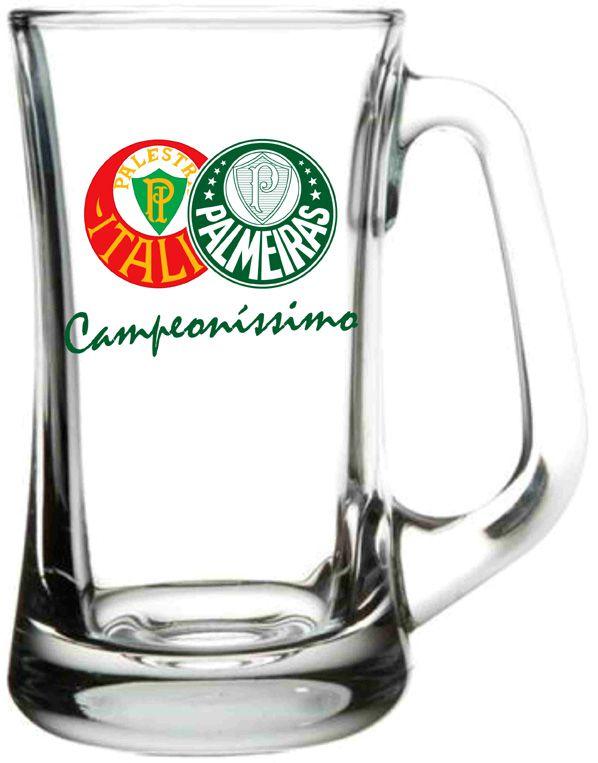 Caneca Scandinavia Palmeiras Campeonissimo - 355 ml