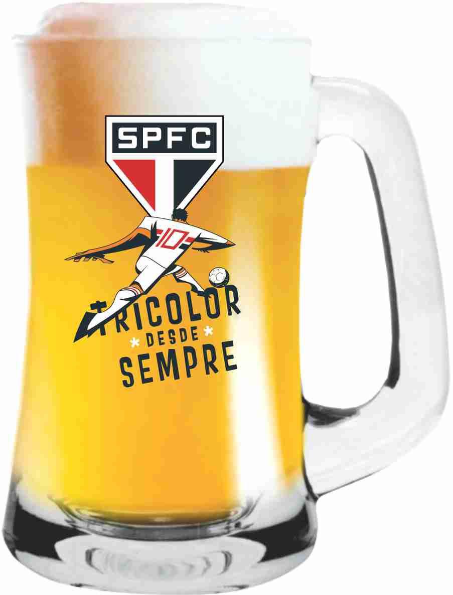 Caneca Scandinavia São Paulo Jogador - 355 ml