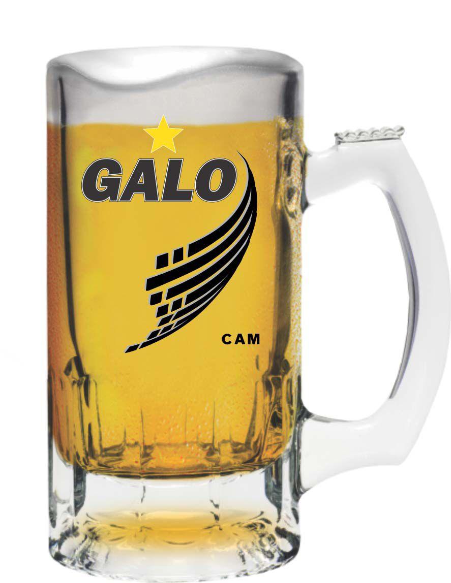 Caneca Trigger Atlético Galo Decorada - 375 ml