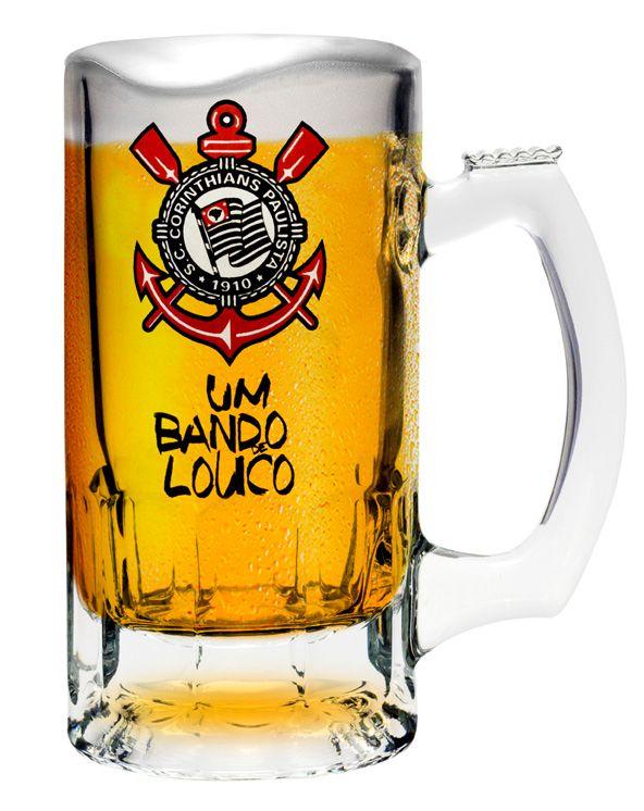 Caneca Trigger Corinthians Bando - 375 ml