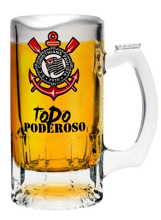 Caneca Trigger Corinthians Todo Poderoso - 375 ml
