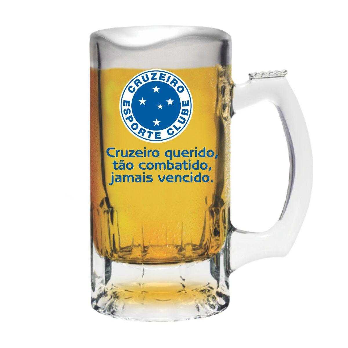 Caneca Trigger Cruzeiro -Torcida 375 ml