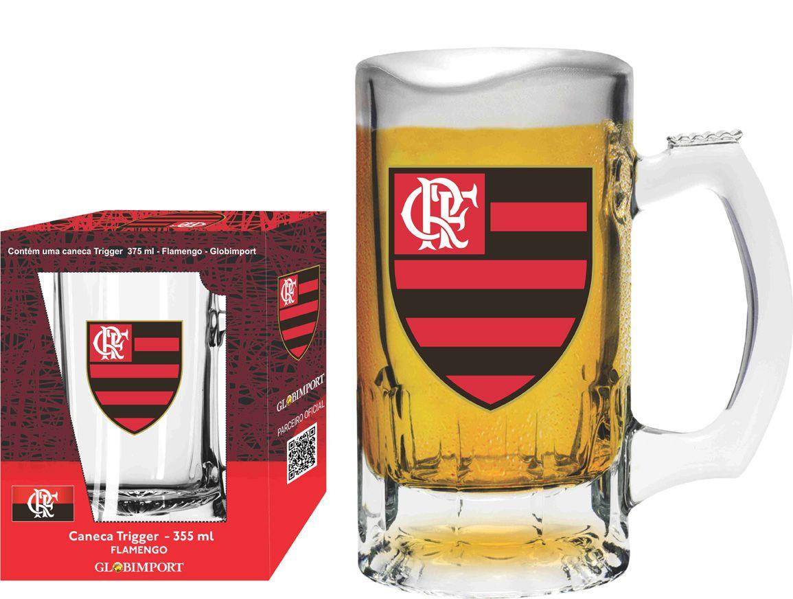 Caneca Trigger Flamengo Logo - 375 ml