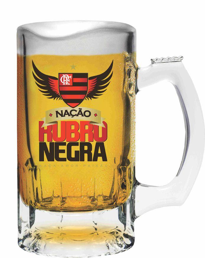 Caneca Trigger Flamengo Nação - 375 ml
