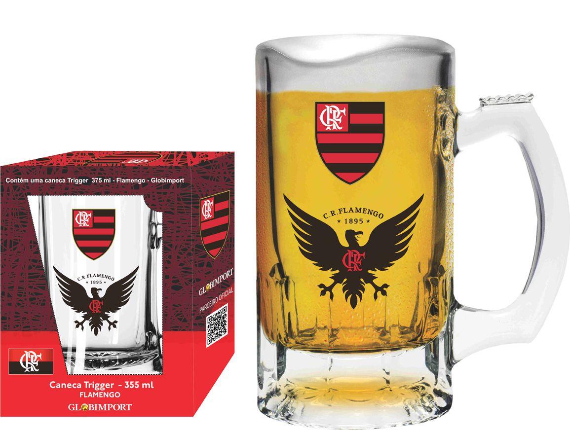 Caneca Trigger Flamengo Urubu - 375 ml