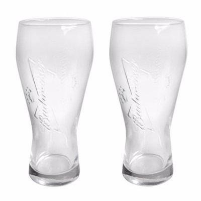 Cj. C/02 Copos p/ Cerveja Budweiser