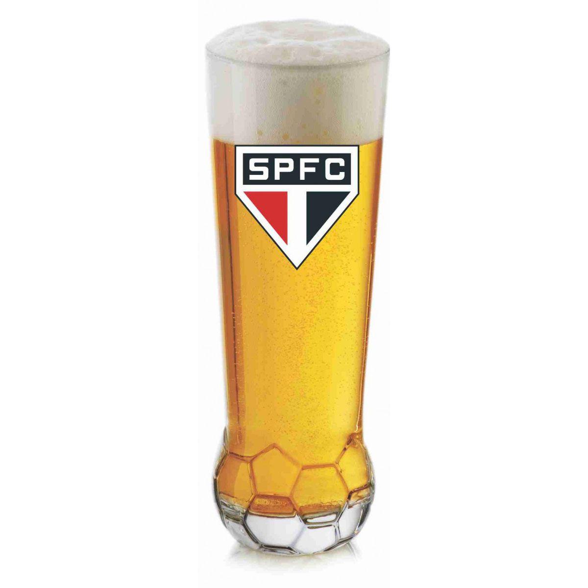 Copo Bola São Paulo - 400 ml