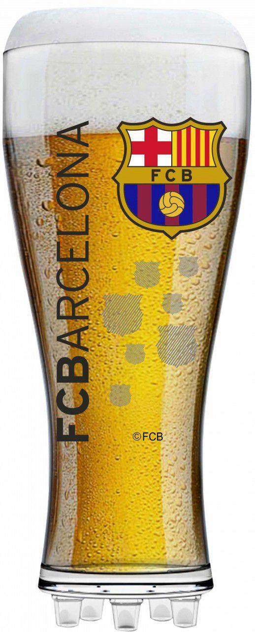 Copo Chuteira Barcelona - 370 ml