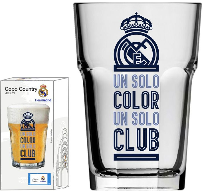 Copo Country Real Madrid Clube - 400 ml