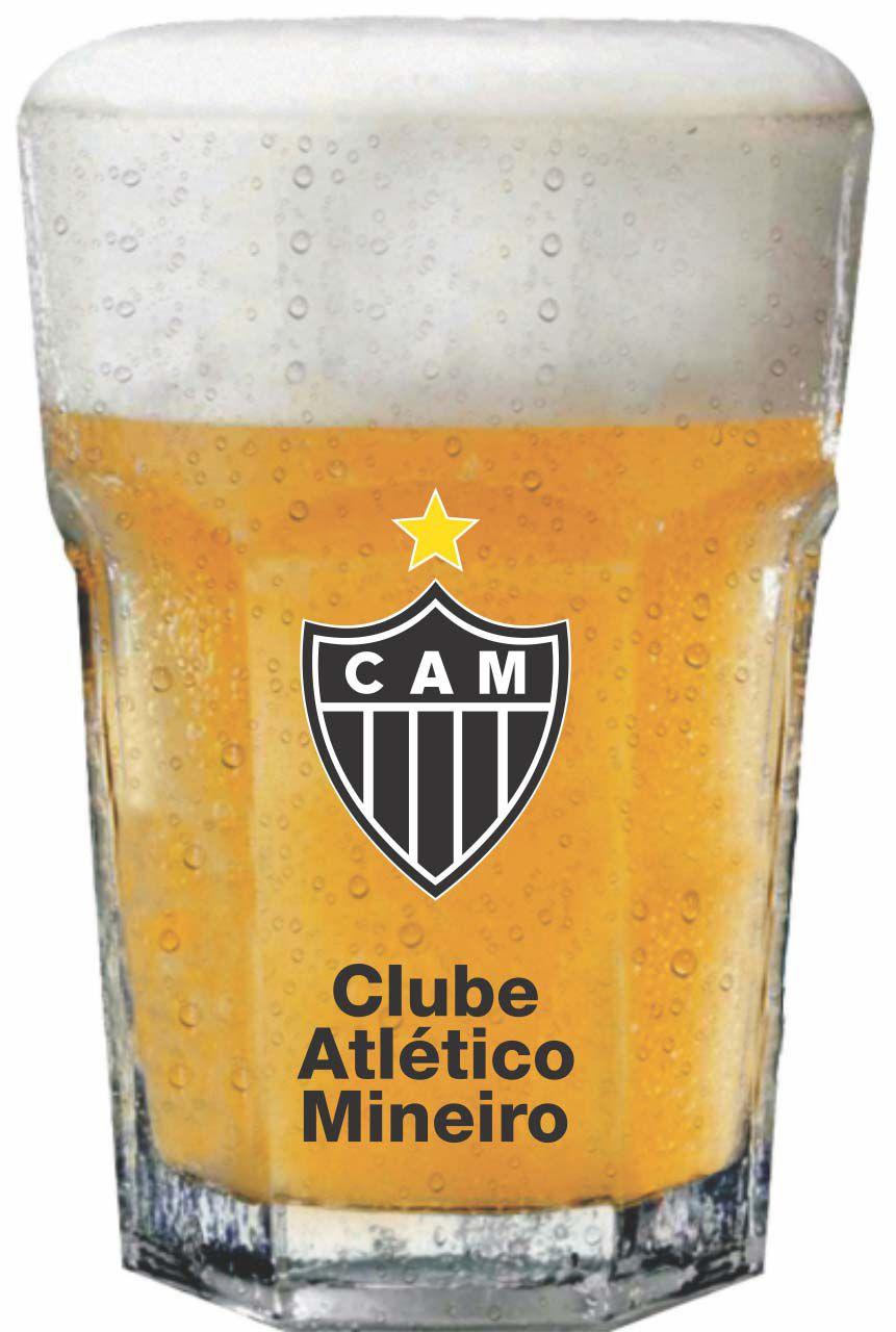 Copo Country Atlético Brasão - 400 ml