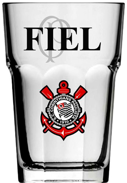 Copo Country Corinthians Fiel - 400 ml