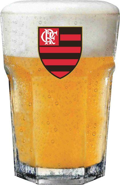 Copo Country Flamengo Logo - 400 ml