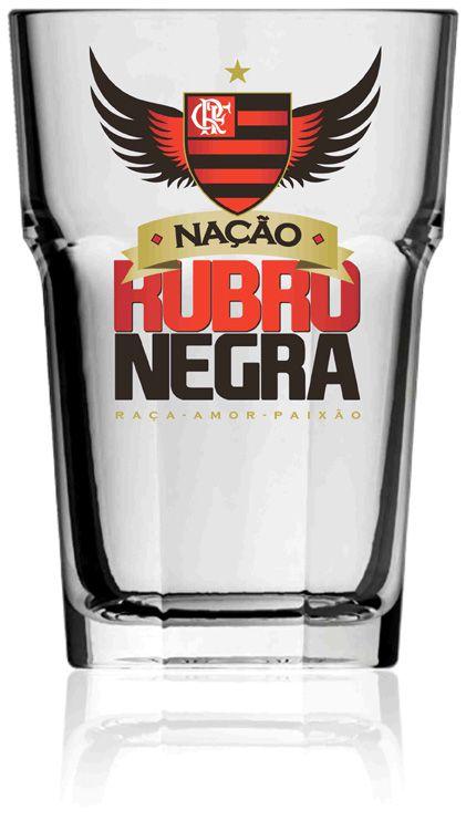 Copo Country Flamengo Nação - 400 ml