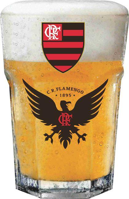Copo Country Flamengo Urubu - 400 ml