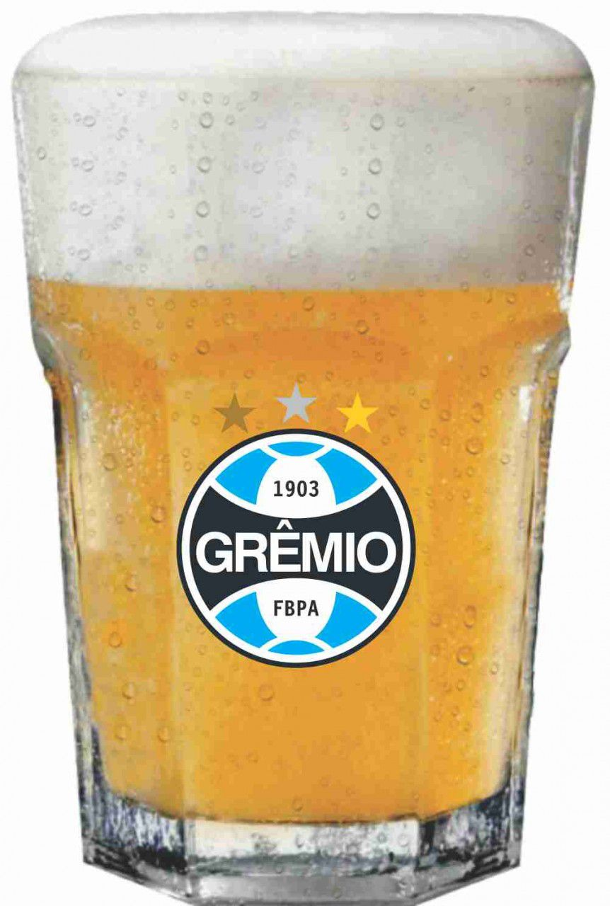 Copo Country Grêmio Brasão - 400 ml