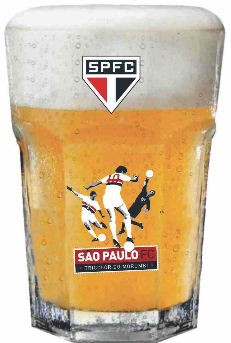 Copo Country São Paulo Time - 400 ml
