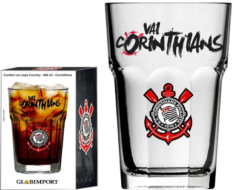 Copo Country Vai Corinthians - 400 ml