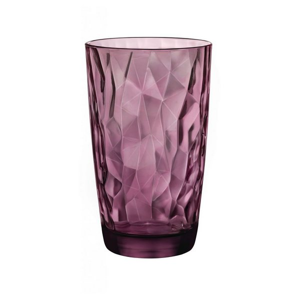 Copo Diamond Long Drink Roxo