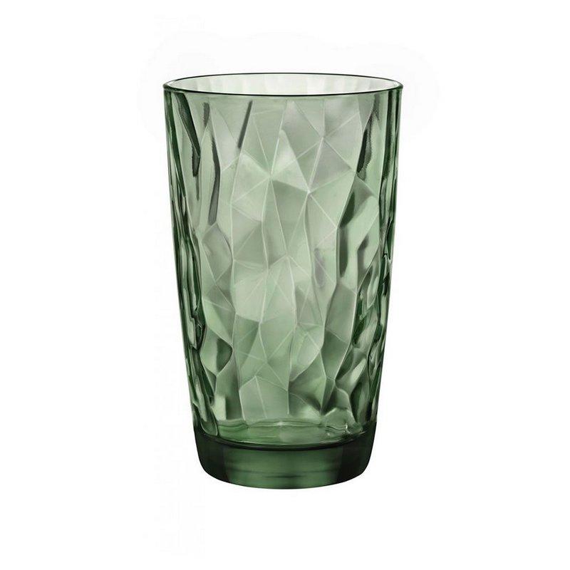 Copo Diamond Long Drink Verde