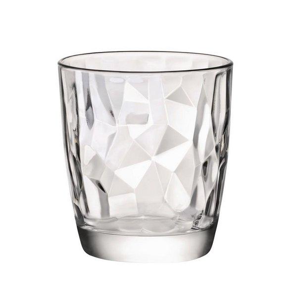 Copo Diamond para Whisky Transparente