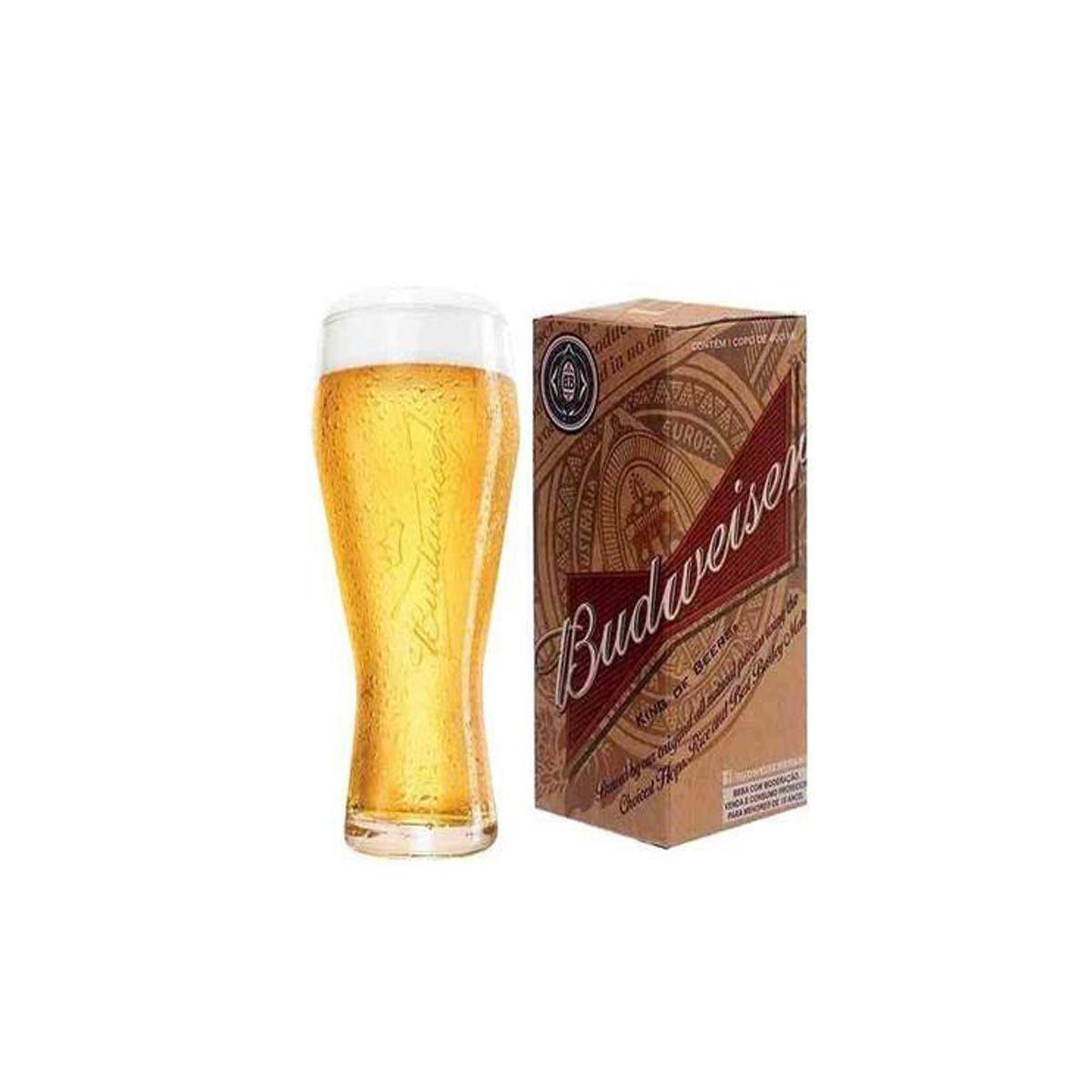Copo P/cerveja Budweiser