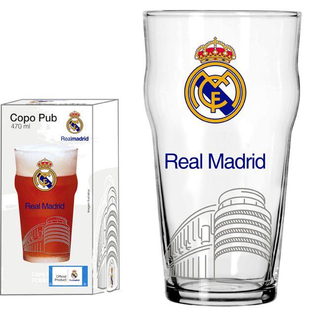 Copo Pub Real Madrid Estadio - 470 ml