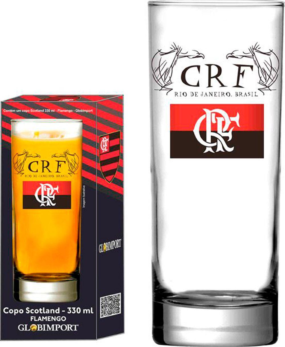 Copo Scotland Flamengo CRF - 330 ml