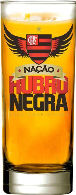 Copo Scotland Flamengo Nação Rubro Negra  - 330 ml