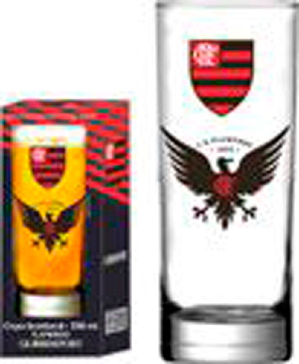 Copo Scotland Flamengo Urubu - 330 ml