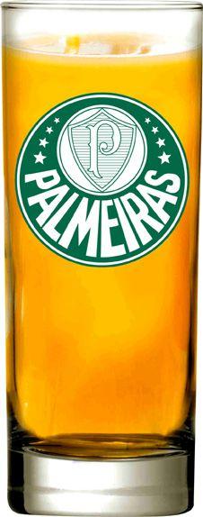 Copo Scotland Palmeiras Logo - 330 ml