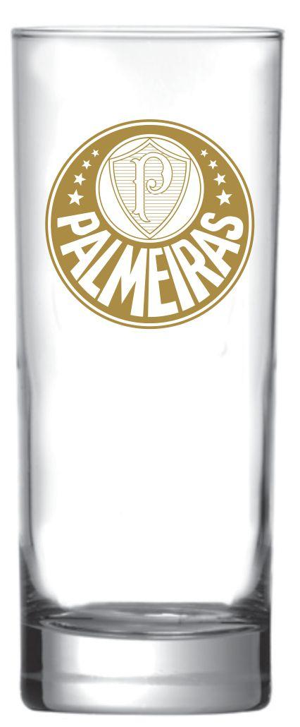 Copo Scotland Palmeiras logo Ouro - 330 ml