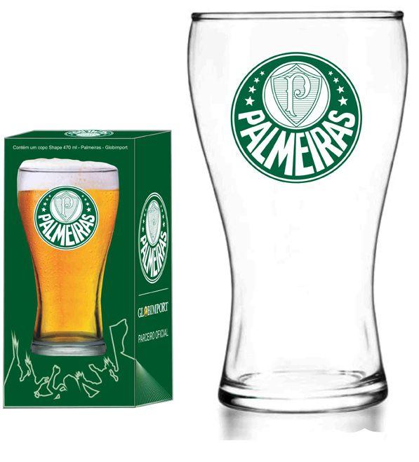 Copo Shape Palmeiras Logo - 470 ml